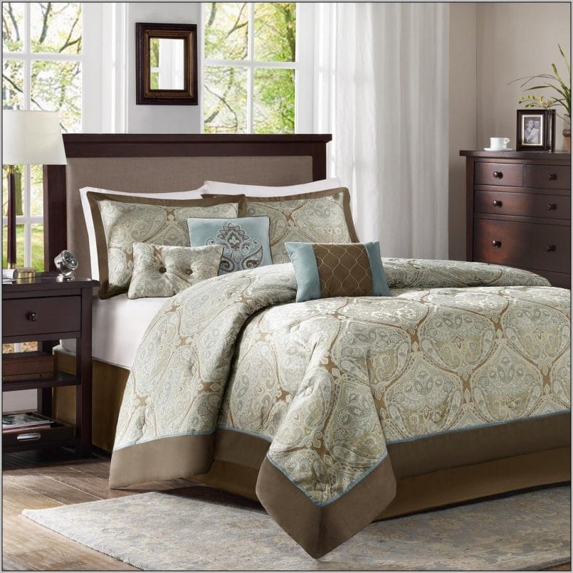 sets a jacquard for light view pieces buy with apps palm android set size cal design on tree interior green bag trends king comforter bedding bed california home brown best sale in