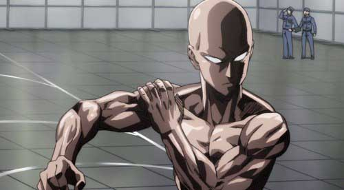 one punch man workout results