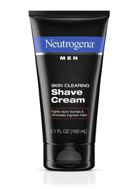 creams for wet electric shaver