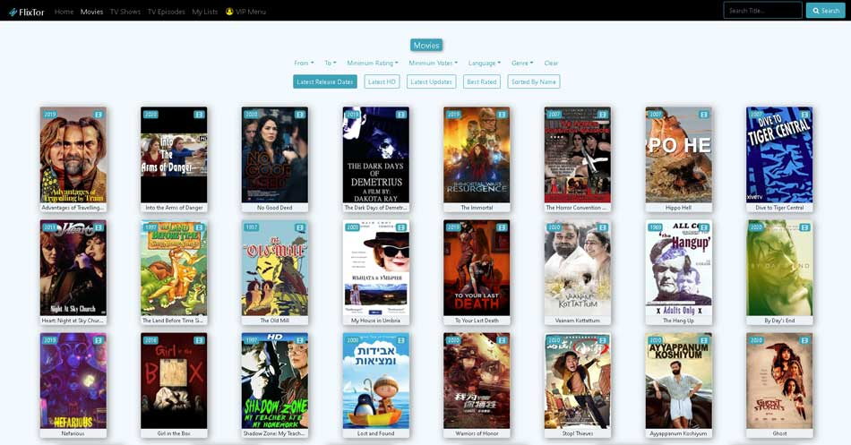 sites like free movies