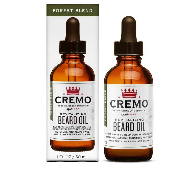 beard oil packages