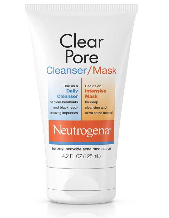 best face washes for large pores