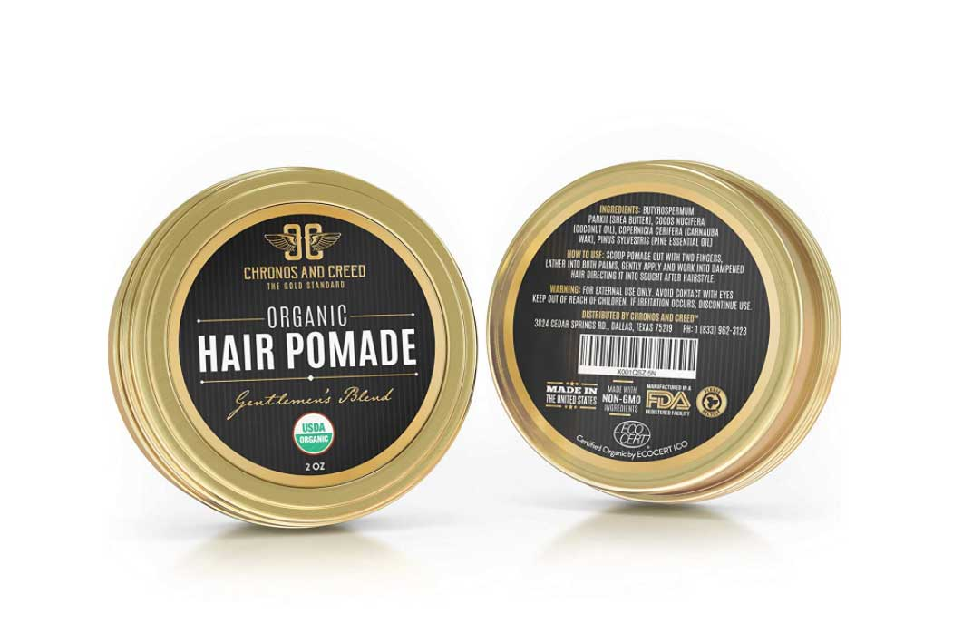 Pomade for curly hairs