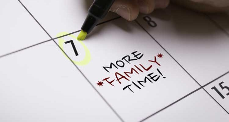 Schedule-Family-Time