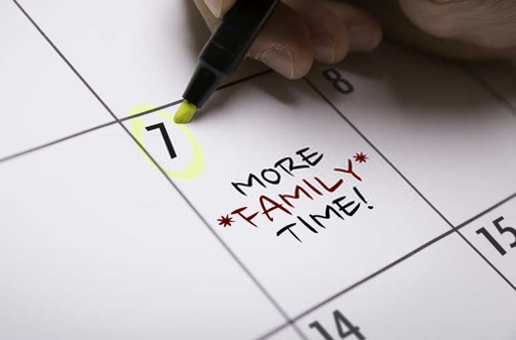 Time is of the Essence, Especially When Building Family Ties